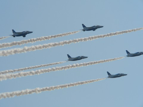 Blue Impulse 2006