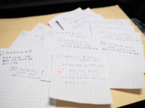 プログラマなので手書きメモ